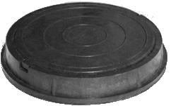 Люк полимерпесчаный канализационный