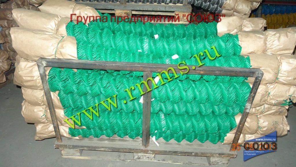сетка рабица с пвх покрытием зелёная