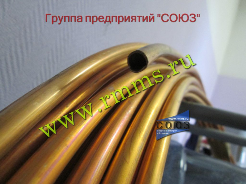 труба латунная для теплообменных аппаратов