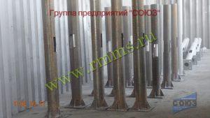фундаментные закладные части для трубчатых силовых опор