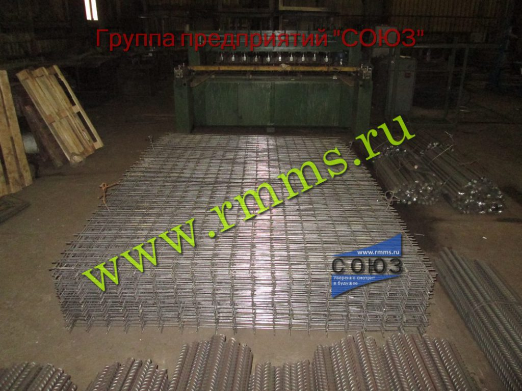 производство арматурной сетки