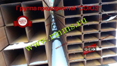 Трубы профильные прямоугольные металлические купить в Екатеринбурге