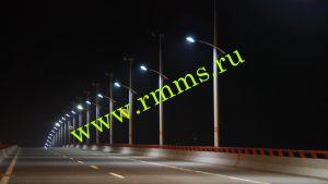 столбы освещения уличные